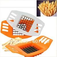 Stainless Steel Cutter Potato Chip Vegetable Slicer Free Shipping  color random min order $15
