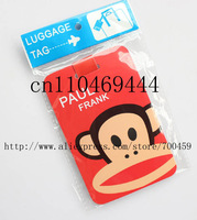 Free shipping 12pcs Fashion bags / luggage tag / consignment card / travel tag / luggage checked identification card