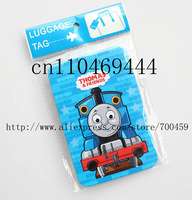 Free shipping 12pcs Thomas Fashion bags / luggage tag / consignment card / travel tag / luggage checked identification card