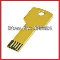 Waterproof Genuine  4GB 8GB 16GB 32GB Key USB 2.0 Flash Drive usb disk promotional usb Free shipping+ MOQ:1pcs+outside box