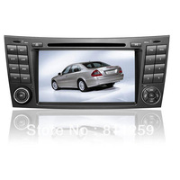 Free shipping Car GPS DVD for Benz W211, W219, Cls Class with Fiber optic