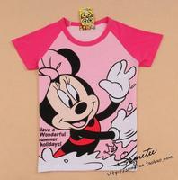 Free shipping MINNIE minnie women's short-sleeve t shirt lady t shirt