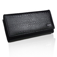 2013 Free Shipping Brand name genuine patent  Leather Wallet for women + Gent patent Leather purses+ brand orginal gift box