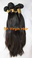 "Bleachable 100% Brazilian virgin remy hair extension 12""-32"" silky straight human hair 1pcs/lot DHL free shipping"