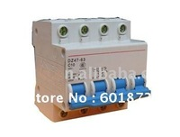 100% Guarantee wholesale and retail C45N 63A (3 pieces/Lot) Circuit Breaker low voltage