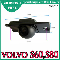Free Shipping -- SV-615 Special-Originated Car Rear View Camera for VOLVO  S60/ S80,  Waterproof , CMOS/CCD
