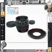 35mm F1.7 C mount CCTV Lens for Camera NEX7 NEX6 NEX5T NEX5 NEX5R A6000 A5100 A5000 A3000 PA098(China (Mainland))