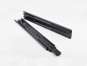 5Prs/Lot 10''  Furniture Hardware Stainless Steel Full Extension Side Mount Ball Bearing Drawer Slides