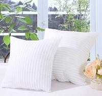 Free shipping!!!  Hot sale promotion white cushion filling pillow inner 50*50 min2pcs