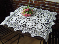 Handmade vintage look Crocheted placemat/ runner/Doilies