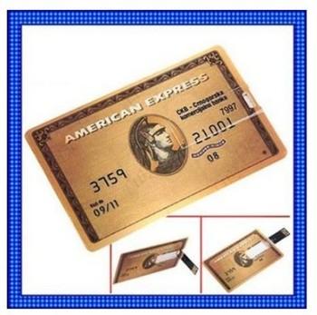 New  Credit Card Model USB 2.0 Memory Stick Flash Pen Drive  2GB 4GB 8GB 16GB 32GB