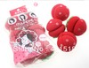 Magic Beauty Strawberry Balls Soft Sponge Hair Care Curler Rollers  24Pcs/set