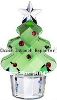 new fashion Glass Crystal Christmas Trees decoration  Christmas ornament tree