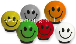 promotional PU ball,shape foam ball,anti-stress ball,PU smile ball(China (Mainland))