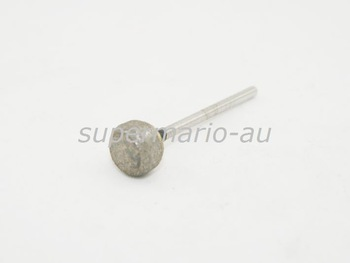 "DIAMOND SINTERED POINT 3/32"" SHK ROTARY BUR GLASS LAPIDARY Dental Lab 70 Mesh 4"
