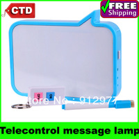 USB Telecontrol Leave a Message Desk Lamp Handwritten Board Emergency Light