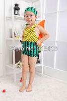 Wholesale 2013 Fashion Child Monokini One Piece Watermelon Swimwear Girls Boys Dot Swimsuit Free shipping (2951)