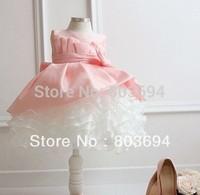 2014 summer girl party dress princess lace dress 04