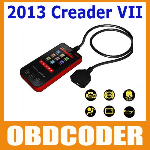 2013 New arrival 100% original Launch code reader Creader VII Creader 7 free shipping via DHL or EMS(China (Mainland))