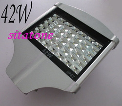 2 years warranty free shipping sale 42W led street light AC85-265V IP65 130-140LM/W LED 42*1w led street light(China (Mainland))