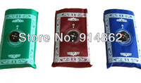 2013  hot selling pocket prayer mat  with compass for muslim   500pcs /lots  DHL free shipping cost