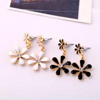Min $20 (can mix) Free Shipping!!! glaze small flower women's earrings