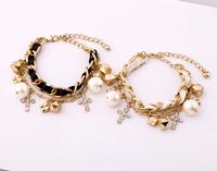 Min $20 (can mix) Free Shipping!!! Fashion double layer women's bracelet