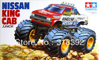 Tamiya 17007 1/32 Wild Mini 4WD Series No.7 Nissan King Cab Junior kit 1:32 assembly plastic car Free shipping wholesale hot