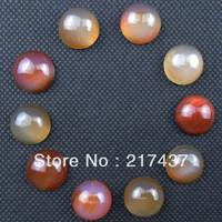 A0170 Free Shopping Beautiful Romantic Fashion Natural Agate cab 10pcs/lot