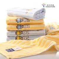 New arrival 100% cotton children towel small towel rabbit pattern cartoon