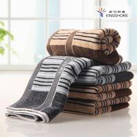 New arrival 100% cotton 100% cotton towel washouts jacquard terry stripe