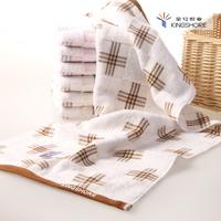 New arrival 100% cotton 100% cotton towel washouts double layer plaid