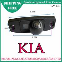 Free Shipping -- SV-601 Special-Originated Car Rear View Camera for KIA 2010 Sportage/Carens/Borrego/Opirus/Sorento CMOS/CCD