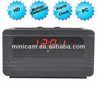 V6 Digital Clock nanny camera DVR Video Recorder with Motion Dection