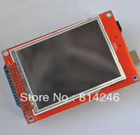 Free shipping !!  MEGA 2560 TFT 3.2-inch touch screen with SD deck 320 * 240