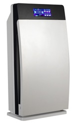 CE/ROHS certificate Standing household nano HEPA ozone air purifier With Sensor Fedex free shipping(China (Mainland))