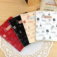 Zakka Style Mini Hand Memo Note Book Pad Notepad Diary Book 4 designs ST0861