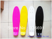 Free shipping  2013 yellow penny skateboard deck skateboard 22  completed skateboard deck