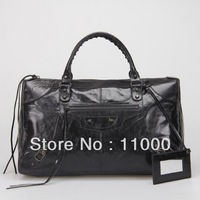 MOQ1-2013 ladies' leather fashion handbags,brand design