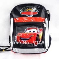 2013 hot  free shipping cute 35x26cm 2 colors car school bag car backpack shoulder bag student bag kid bag  travelling bag