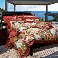 100% cotton satin bed sheets six pieces set reactive print earthsound 6 piece set  6pcs Free shipping!