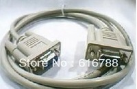 10pcs/lot 1.5 m DB9 female to female directly connected to the serial line DB9 hole to hole RS232 cable,free shipping