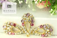 H07b Wedding Jewelry 3pcs Crystal Rhinestone Teardrop Design  Pendant