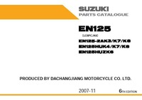 Parts Catalogue for SUZUKI  EN125