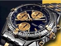 Wholesale Men's luxury Watch!mens luxury quartz stainless steel fashion multifunctional sports watches(19184)