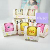 Free shipping(15pcs/lot), Pure cotton animal pattern towels, Novelty Wedding/Valentine's day/Birthday Children's day gift,UK034