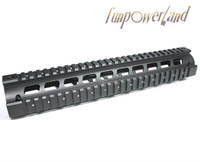 Funpowerland Long Version Generalism RIS Handguard 12 inch  AR Quad Rail