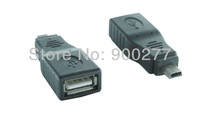 USB A Female to USB mini 5pin Male adapter