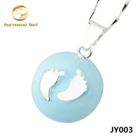 JY015 New Style 1PC Fashion 925 Sterling Silver Harmony ball Pendant Jewelry in Round shape