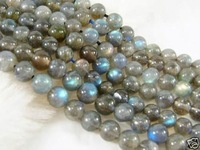 6mm Indian Labradorite Round Loose  Beads 15""